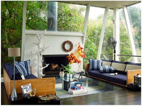 summer delights modern inspirations that bring the wrap around windows bring the outside in green