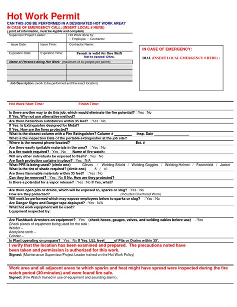works permit template work permit template 2014freerun5