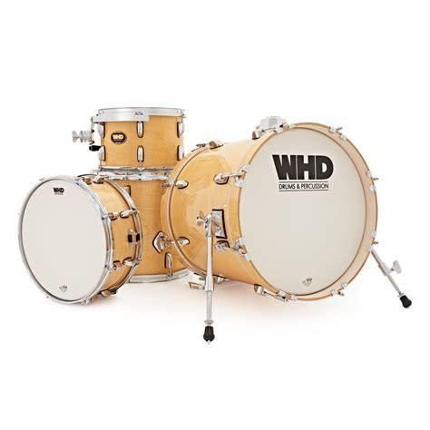 Jazz Drum Dus 6684 whd birch 4 stuk jazz drumkit natuurlijke op gear4music