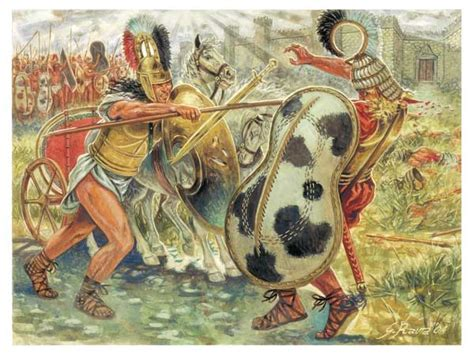Achilles Vs Hector Essay by 3 Achilles And Hector Giuseppe Rava