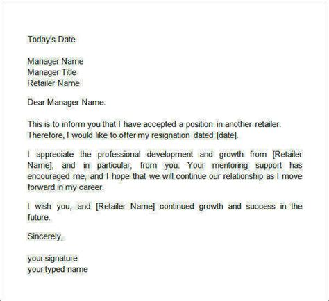 two weeks notice letter 12 free documents in word