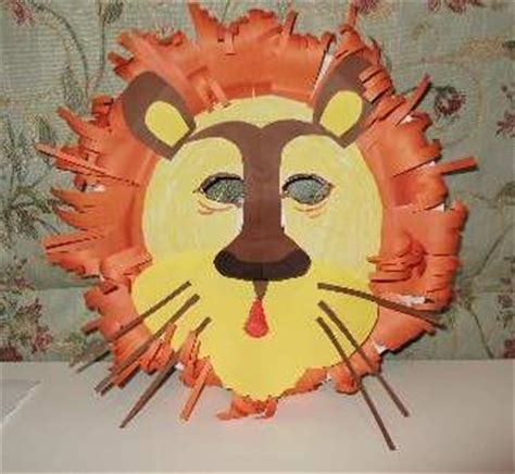 How To Make Animal Mask With Paper Plate - paper plate craft for