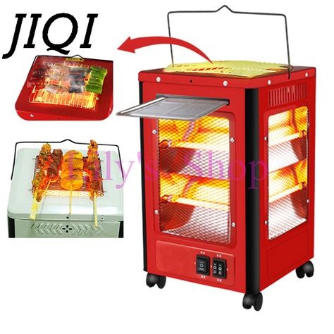 heater for bedroom 2000w household dual use bbq barbecue heater electric