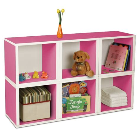 kids storage storage pink cubes for the kids room
