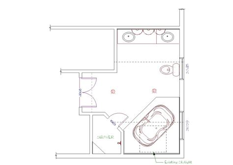 Bathroom Floor Plans Master Bathroom Floor Plans 17 Best 1000 Ideas About