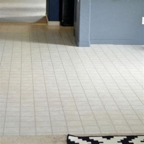 how to transform an ugly linoleum floor on the cheap diy and crafts and floors