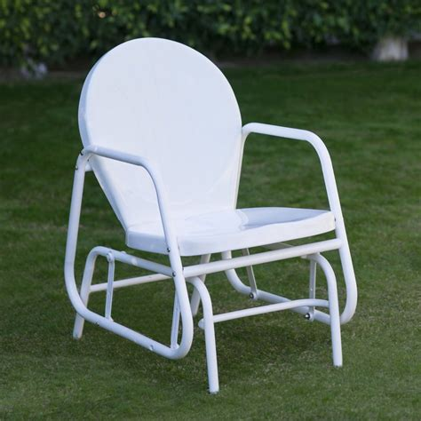 coral coast vintage retro outdoor glider chair ebay