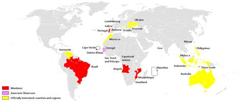 6 countries that speak community of portuguese language countries wikiwand