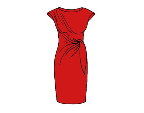 imagenes de vestidos faciles para dibujar dibujos de vestidos para colorear dibujos net
