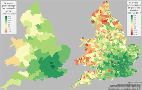 percentage change in house prices in wales