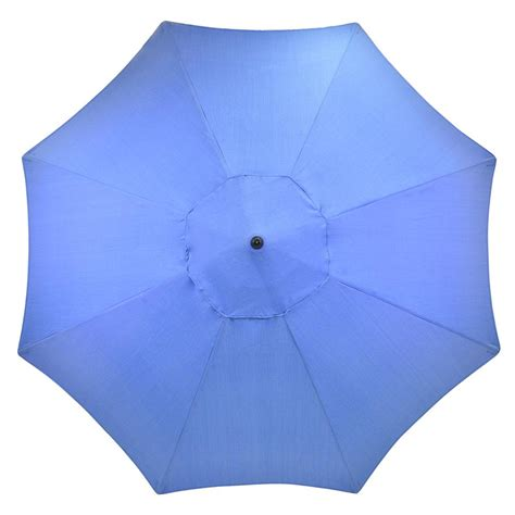blue pattern patio umbrella plantation patterns 11 ft aluminum patio umbrella in