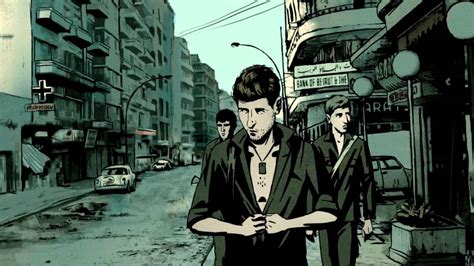 waltz with bashir war documentary meets israeli animation the jews and art by mr nizin lopez nizinlopez