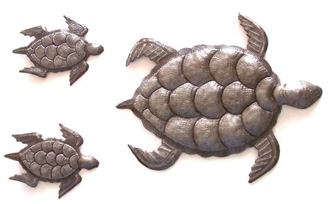 collection  outdoor metal turtle wall art