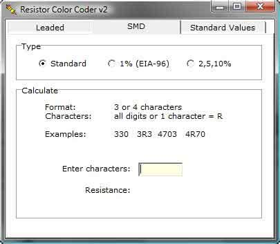 resistor color code v2 1 resistor color code v2 28 images resistor color code windows phone mga tool at resistor