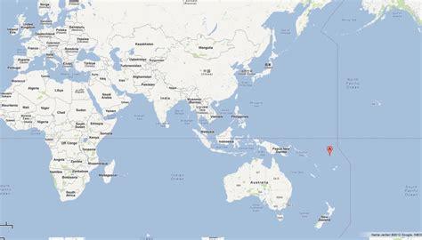 tuvalu on world map tuvalu map