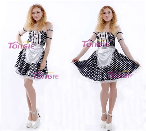 pattern for french maid costume sexy french maid costume uniform costume carnival costumes