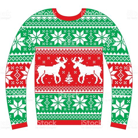 printable ugly christmas sweater ugly sweater clipart no background clipartxtras