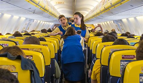 cabin crew ryanair ryanair denies pressure on staff to sell eight scratch