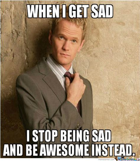 Barney Stinson Meme - barney stinson is awesome by zausine meme center
