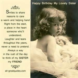 Happy birthday sister cards happy birthday sister and happy birthday