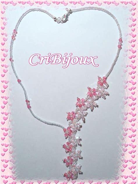 collana di fiori collana cascata di fiori rosa rosa chiaro