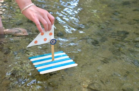 how to make a boat level out popsicle stick boat craft ideas for kids
