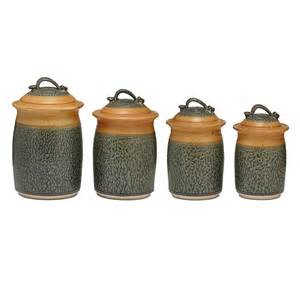 Kitchen Canister Set Stoneware Canister Set Kitchen Storage Jars Uncommongoods
