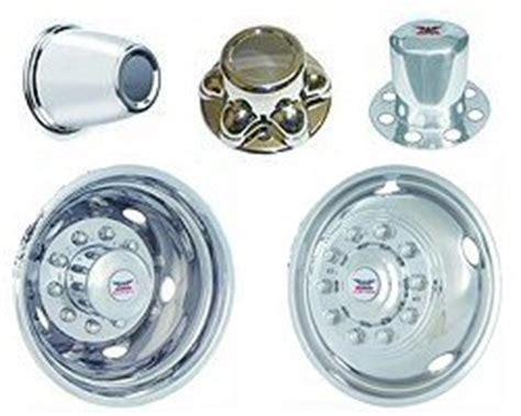 hub covers, trim rings, wheel simulators at trailer parts