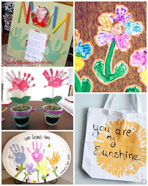 s day gifts for s day handprint crafts gift ideas for to