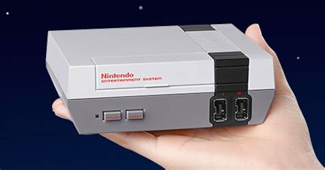 nintendo classic console nintendo unveils re release of its retro gaming system