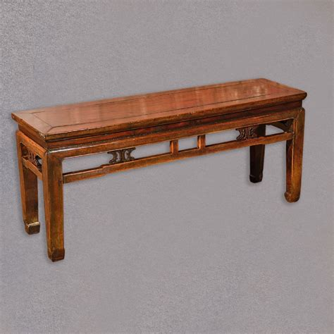 oriental bench antique chinese bench oriental elm seat hardwood coffee
