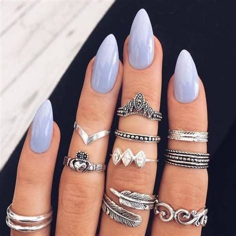 salon nails for women over 40 25 best ideas about acrylic nail shapes on pinterest