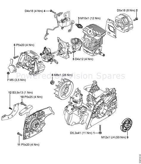 stihl ts350 parts diagram 100 repair manual for ms 181 chainsaw compare