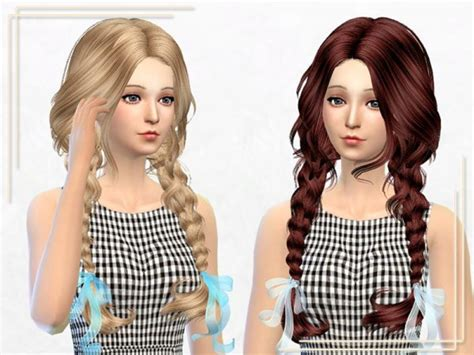 the sims 4 hair for female kids the sims resource the sims 4 kids hair tsr newhairstylesformen2014 com
