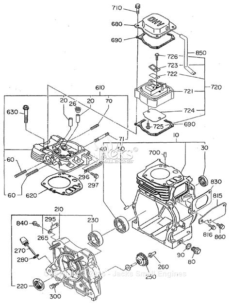 Robin Subaru Eh12 2 2 Parts Diagram For Crankcase