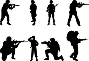 awol tattoo soldier silhouette free download clip art free clip art on clipart library
