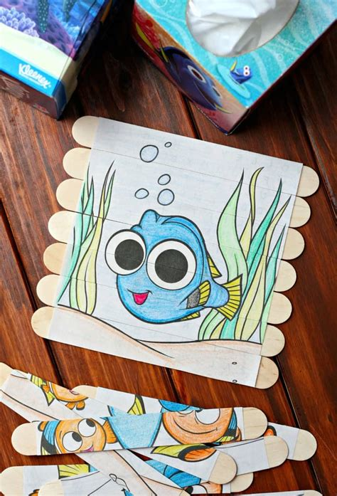 craft projects for 6 year olds diy puzzles