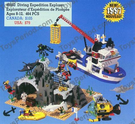 lego explorer boat instructions lego 6560 diving expedition explorer set parts inventory