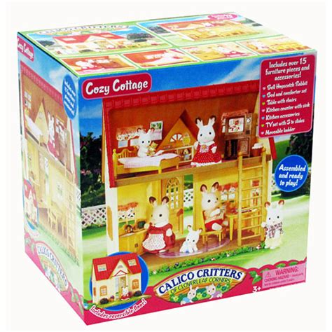 calico critter cozy cottage calico critters cozy cottage timbuk toys