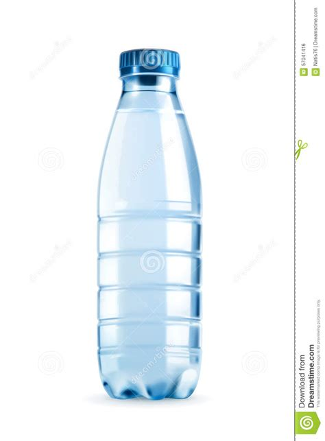 Fond Of Bottled Water by Objet De Vecteur De Bouteille D Eau Illustration De