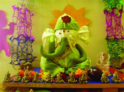 eco friendly ganpati decoration ideas at home studio