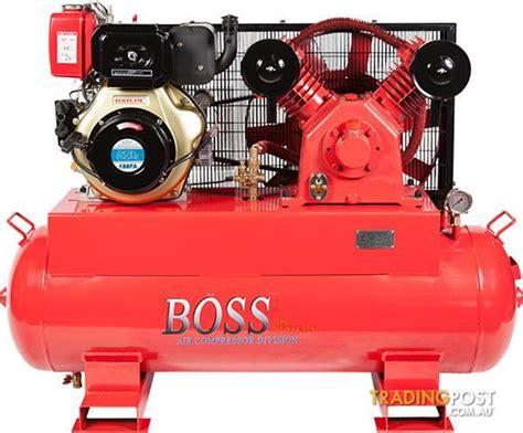 40cfm 10hp diesel air compressor e start for sale in browns plains qld 40cfm
