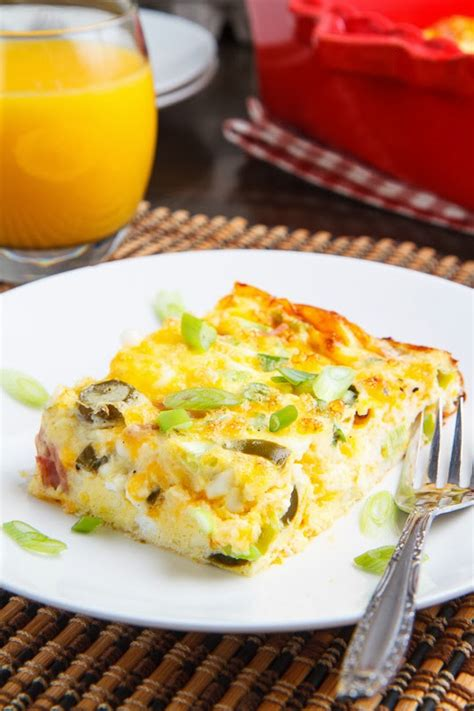 Egg Cottage Cheese Bake by Ham And Cheese Egg Casserole On Closet Cooking