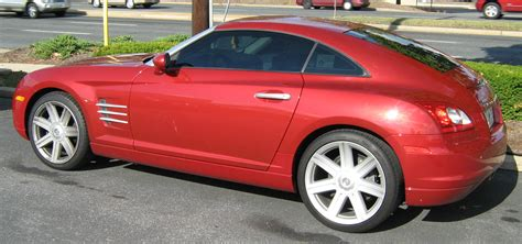 chrysler crossover file chrysler crossfire red coupe2 jpg wikipedia