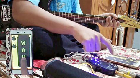 Harga Usb Efek Gitar Android test aplikasi usb effects di android dgn guitarlink efek