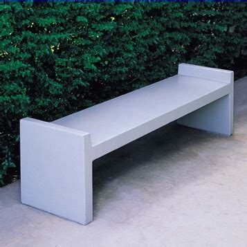 concrete bench seat streetscapes