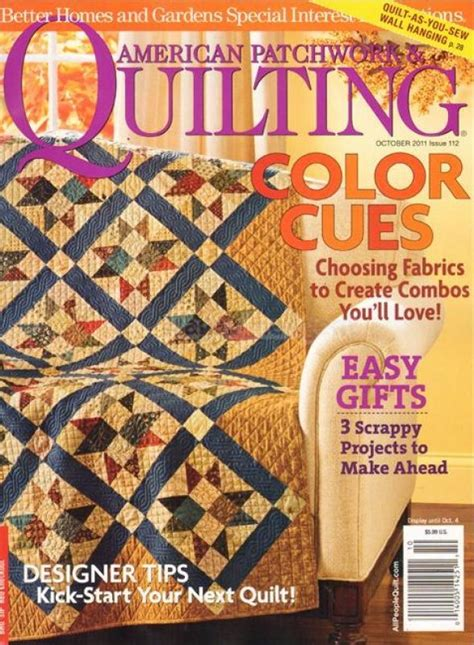 Quilting American Patchwork Magazine - american patchwork and quilting october 2011 014005142511