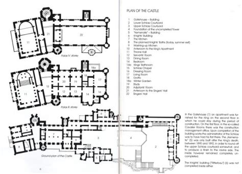 neuschwanstein castle floor plan floor plan neuschwanstein castle princess land