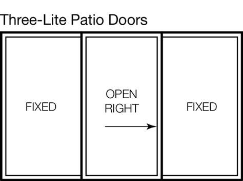 patio door types types of patio doors locking and sliding glass doors