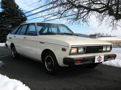 nissan datsun hatchback 1980 datsun 510 a10 5 door hatchback by nissan